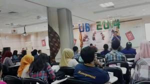 Tema nusantara didalam ruang 1&2 memberikan energy positive bagi para peserta conference