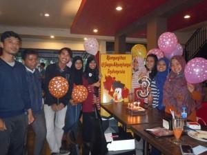 Perayaan HUT KJAI ke-3 di Enhaii Pekanbaru oleh Chapter Riau pada Sabtu, (12/12)