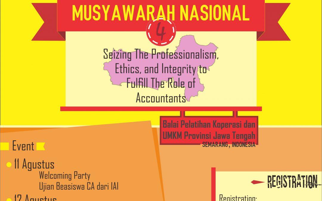 The 4th National Conference of Komunitas @JagoAkuntansi Indonesia