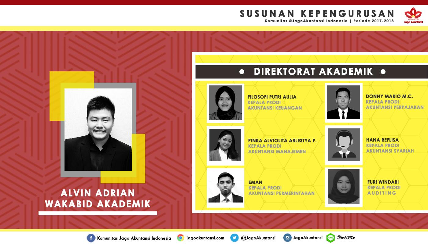 Direktorat Akademik 2017-2018