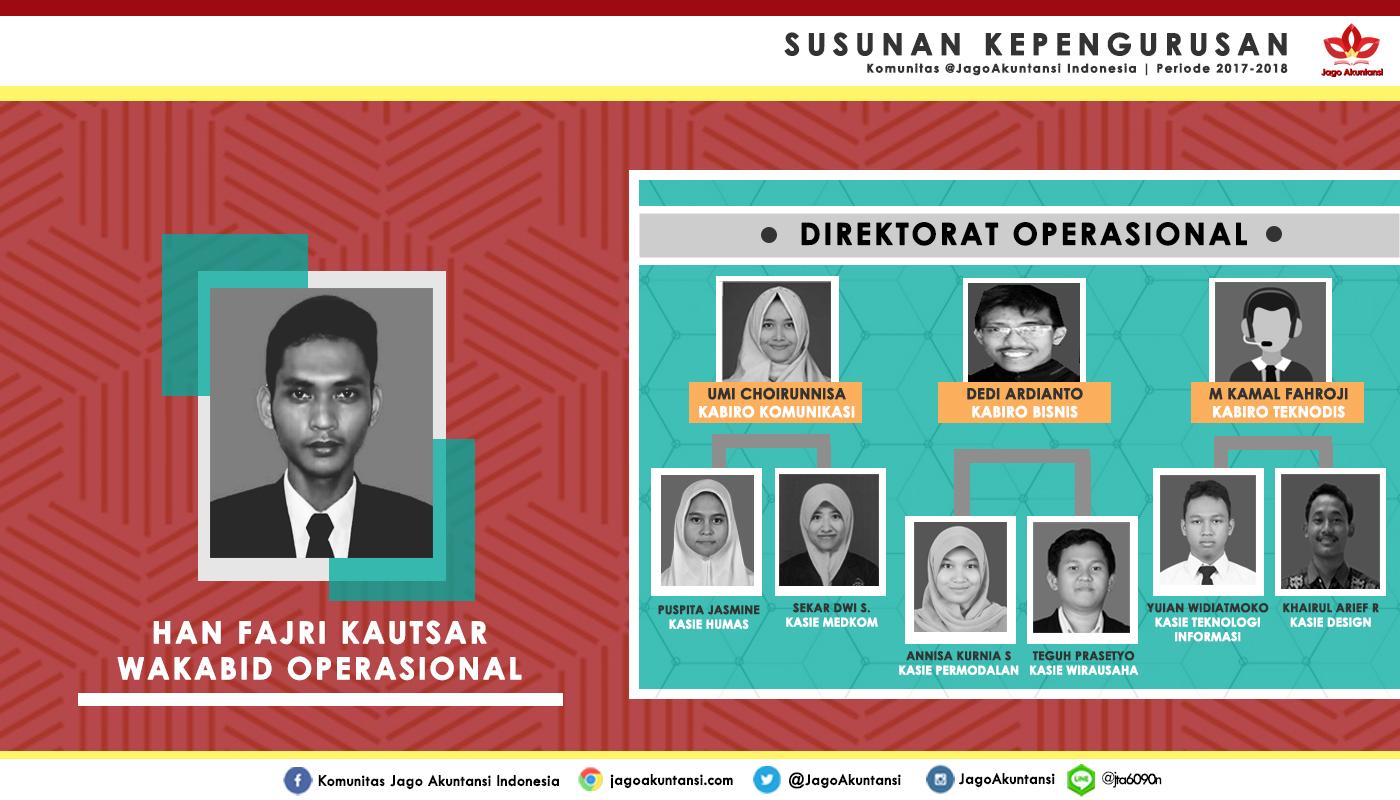 Direktorat Operasional 2017-2018
