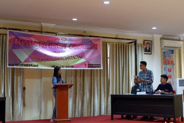 Accounting Debate Competition Sulawesi Utara 2018